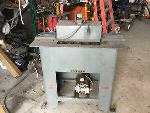 Used 20 Ga Lockformer Pittsburgh Machine W Pipe Lock On Second Side And 1 4 Out