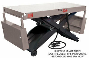 Handy Sam2 1000 Lb Automotive Motorcycle Bike Air Lift Table