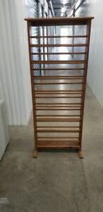 Mid Century Modern Wood Bookcase Book Shelf Shoe Rack Stand