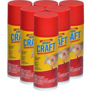 Plasti Dip Tin Roof Red Craft Spray Pack Of 6 11 Oz Cans