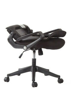 Ergonomic Task Chair Computer Desk Office Easy Fold Out Kairo By Ergo Hq Grey