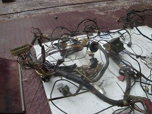 1970 Ford Mustang Mach 1 Original Tach Wiring Harness With Ac And Sportlamps