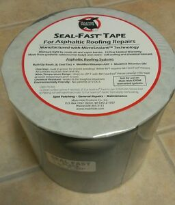 6 x 50 Black Seal fast Mule hide Products Asphaltic Roof Repair Tape best Price