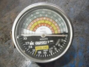 1965 International 424 Gas Farm Tractor Tachometer