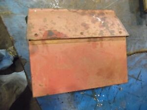 1965 International 424 Gas Farm Tractor Tool Box