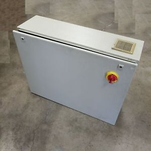 Rittal Ae 1180 500 Electrical Junction Box With Square D Disconnect 9421 nc2