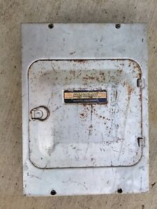 Vintage Murray Electrical Switch Fuse Box Cat No 74 4 60a 125 250v Ac