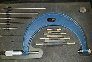 Moore Wright 0 6 Outside Micrometer 13 Pc Set 0 001 Made In England 1044 M w