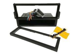 Single Din Dash Kit Combo Car Stereo Radio Install W Wire Harness Sat4lsv12