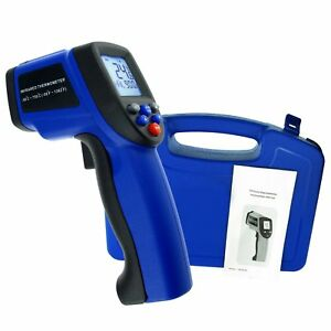 Digital Ir Infrared Laser Thermometer 50 750 c 58 1382 f Pyrometer 12 1 Ds