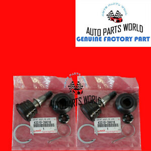Genuine Oem Toyota 4runner Tacoma Tundra Front Upper Ball Joint Set 43310 39016