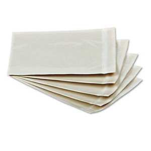 Quality Park Clear Front Self adhesive Packing List Envelope 6 X 4 1 2 1000 box