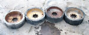 34 X 12 5 Solid Rubber Compact Loader Skid Steer Manlift Tires