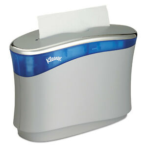 Kleenex Reveal Countertop Folded Towel Dispenser 13 3x9x5 2 Soft Gray