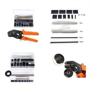 Dupont Crimping Hand Tools Pliers With 1420pcs Connectors Idc Cable 0 1 1 0mm