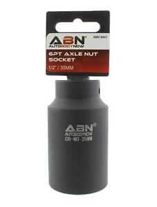 Abn Axle Nut Socket 35mm 1 2 Inch Drive 6 Point Universal For All
