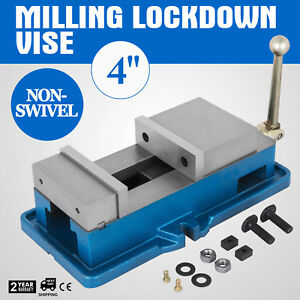 4 Non swivel Milling Lock Vise Bench Clamp Secure Lock Vise Milling Special Buy