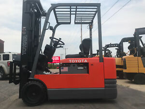 Toyota 5fbe20 4000lb Electric Forklift Lifttruck