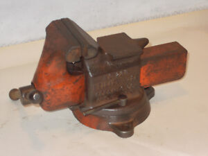 Vintage Reed 3 No 23 R Swivel Vise Opens To 4 Plus Prd2914