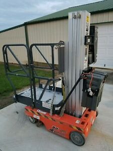 2003 Jlg 12sp Personnell Lift Genie 18 Working Height Manlift Lift Stock Picker