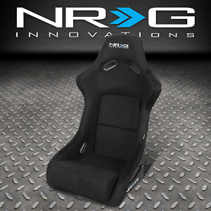 1x Nrg Frp 300 Universal Fiber Glass Bucket Racing Seat foam Lumbar Cushions