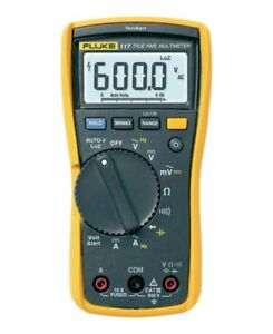 Fluke 117 Electrician s Multimeter With Non contact Voltage