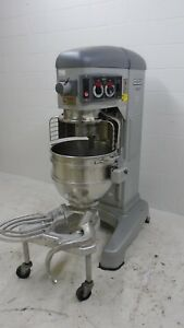 Hobart Legacy 60 Quart Mixer With Attachments Dolly 240v Hl662
