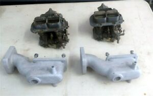 32 36 Weber Dgv Carburetors 240z 260z W Cannon Manifolds