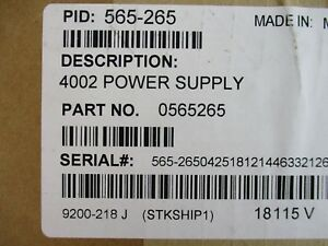 new Simplex 565 265 4002 Cpu Power Supply Assembly Module