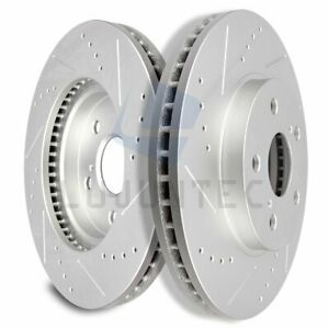 Front Brake Discs Rotors For 2004 2005 2006 2007 2008 2010 Toyota Sienna Vented