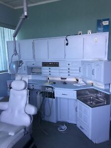 Dental Office lab Equipment Package Lot 5 Includes x ray Dci Light Chair