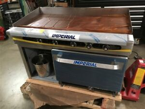 New Imperial 48 Commercial Griddle Oven scratch And Dent Natural Gas