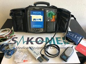 Philips Heartstart Mrx 12 lead Spo2 Nibp Co2 And Qcpr