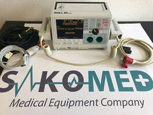 Zoll M Series Monophasic 3 Lead Ecg Pacing Spo2 Tested