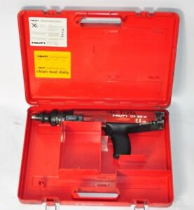Hilti Dx36m Semi Automatic Powder Actuated Fastening Tool Nail Gun W Case