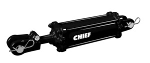 Chief Tie rod Cylinder For 2 5 Bore 48 Stroke 1 25 Dia 3000 Psi Sae 8 211338