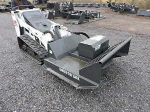 Cid Xtreme 44 Brush Hog Cutter Mower Mini Skid Steer Loader Bobcat Mt52 Mt55