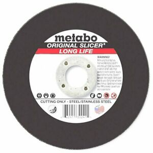 Metabo 6 X 045 X 7 8 inch A60xl Type 1 Long Life Cutting Wheel 25pk