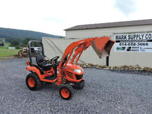 2008 Kubota Bx2350 Sub Compact Tractor Loader Diesel 4x4 Pto 3 Point Hitch