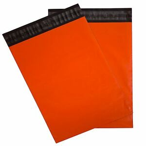 Orange Poly Mailers 14 5x19 Pack Of 100