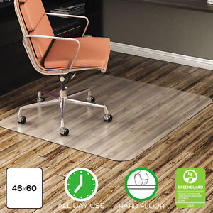 Deflecto Economat Anytime Use Chair Mat For Hard Floor 46 X 60 Clear Cm21442f
