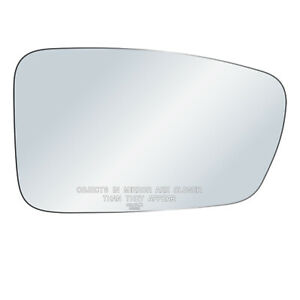New Passenger Side Mirror Glass Replacement Lens For 11 14 Hyundai Sonata Right