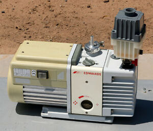 Edwards Rv5 Two Stage Rotary Vane Vacuum Pump A653 01 906