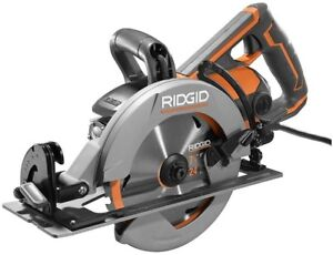 Ridgid Circular Saw Worm Drive 7 1 4 Inch Cutting Power Tool Corded Compact Cut