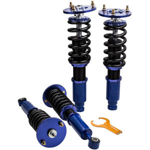 For Mitsubishi Eclipse 1995 1999 Racing Coilovers Shocks Strut Adj Height Set