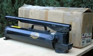 New Gates 77821 power Team P159 Two Stage Hydraulic Hand Pump 10 000 Psi