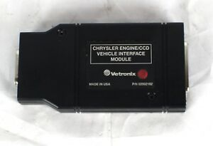 Mastertech Vetronix 02002192 Chrysler Engine Ccd Behicle Interface Module Usa