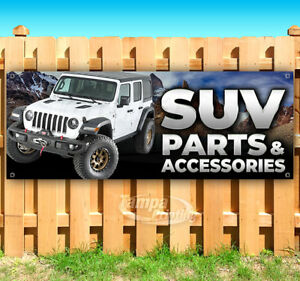 Suv Parts Accessories Advertising Vinyl Banner Flag Sign Many Sizes Jeep
