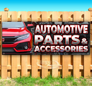 Automotive Parts Accessories Advertising Vinyl Banner Flag Sign Many Sizes