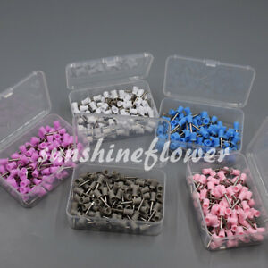 Dental Latch Type Polishing Prophy Cup Rubber Bowl Teeth Mixed 50 100 500 Pcs